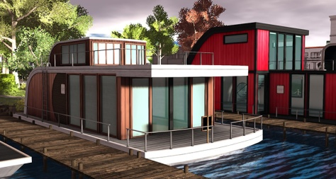 Linden Homes: Houseboats - photographed by Wildstar Beaumont