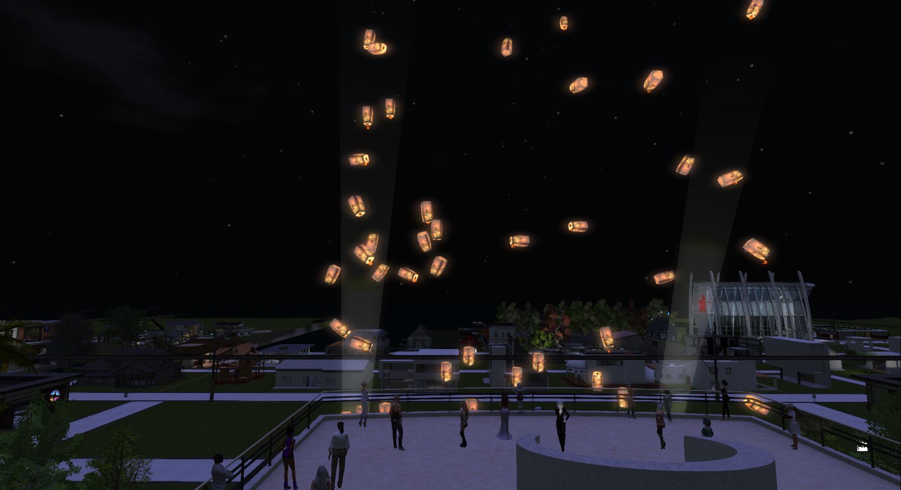 Lantern Release Ceremony