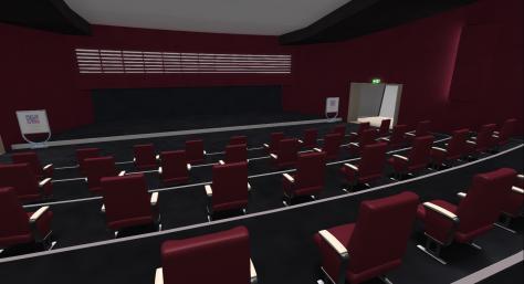 Inside the Main Theatre
