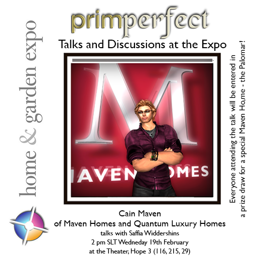 Cain Maven Talks at the Expo