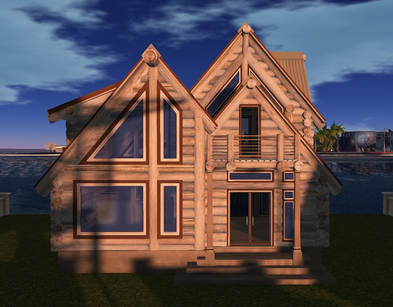 House 11: The Beach Cabin by Loggin' Off Homes