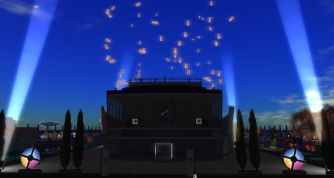 The Lantern Ceremony at the Expo, photographed by Wildstar Beaumont